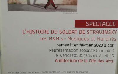 Concert «L'histoire du soldat», de Stravinsky